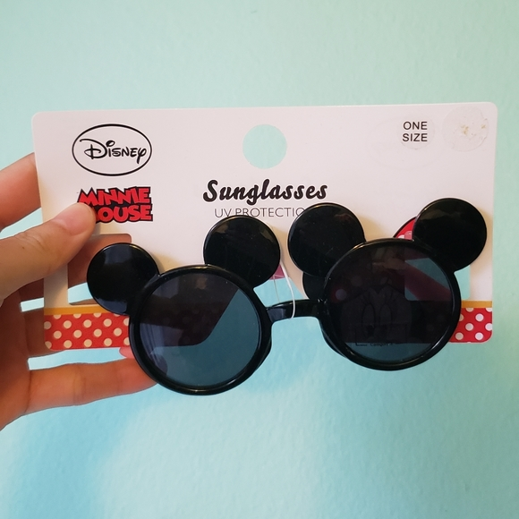 Disney Stickers Mickey Mouse Sunglasses Toddler Short Polo Set